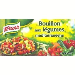 Bouillon aux légumes méditerranéens