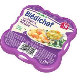 Blédina Blédina  - Duo d'épinards, carottes et petits macar... l'assiette de 250 g