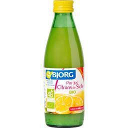 Pur jus citrons de Sicile BIO