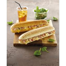 Panini lardons emmental raclette