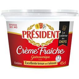 Crème fraîche entière 30% MG