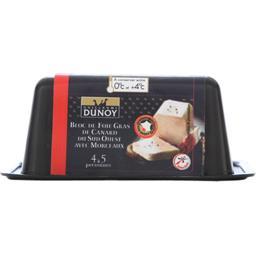 Bloc de foie gras de canard du Sud-Ouest avec morcea...