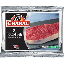 Viande bovine 2 faux filet ***