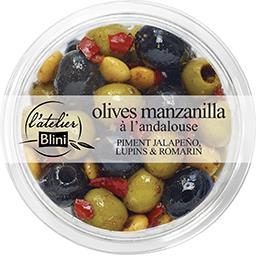 Olives manzanilla à l'andalouse