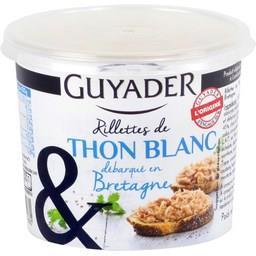 Rillettes de thon blanc débarqué en Bretagne