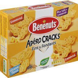 Biscuits apéritif Apéro Cracks