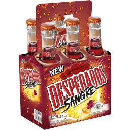 Desperados Bière aromatisée Sangré les 6 bouteilles de 33 cl