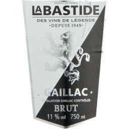 Gaillac Brut Labastide - Méthode gaillacoise