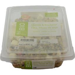 Quinoa & boulgour féta fèves de soja BIO