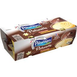 Paturette - Crème dessert chocolat/vanille