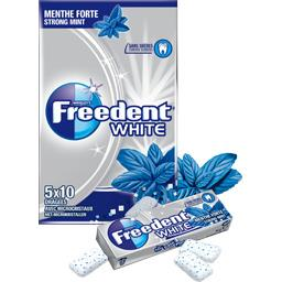 White - Chewing-gum menthe forte sans sucres