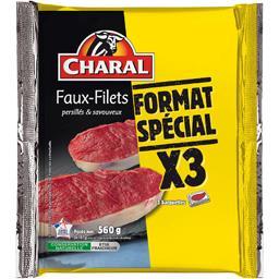Faux-filets persillés & savoureux Charal