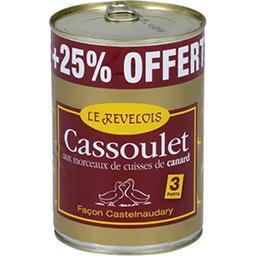Cassoulet aux manchons de canard + 25% offert