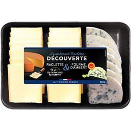 Plateau assortiment raclette & Fourme