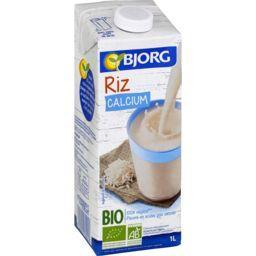 Boisson riz calcium BIO