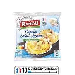 Coquilles Saint-Jacques recette à la Charentaise