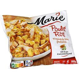 Poulet rôti pommes de terre fondantes