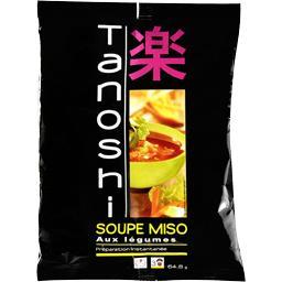Soupe instantanée Miso aux légumes