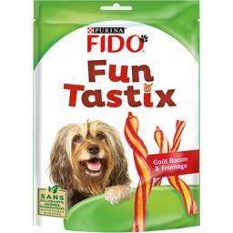 Friandises Fun Tastix goût bacon et fromage pour chi...