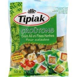 Croûtons salades ail & fines herbes
