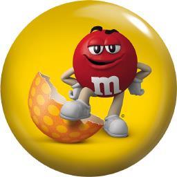 M&M's Bonbons cacahuètes enrobées chocolat au lait la boite de 45 g