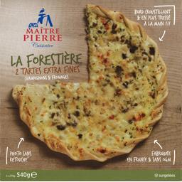 Tarte extra fines La Forestière