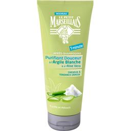 Après-shampooing purifiant douceur à l'argile blanch...