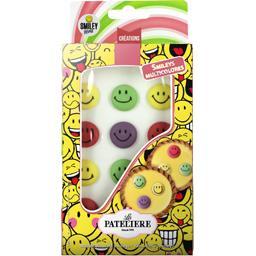 Créations - Smileys multicolores