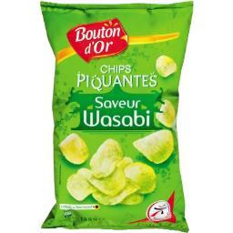 Chips piquantes saveur Wasabi