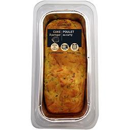 Cake au poulet au curry