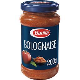 Bolognese, sauce à base de tomate, viande de bœuf et...