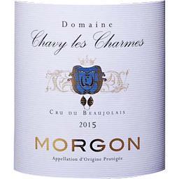 Domaine Chavy-Les Charmes, Morgon, vin rouge, 2015