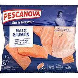 Pescanova Pavés de saumon atlantique sans peau le sachet de 400 g