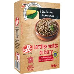 Lentilles vertes du Berry IGP Label Rouge