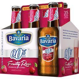 Bière sans alcool Fruity Rosé