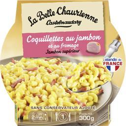 Coquillettes au jambon et au fromage