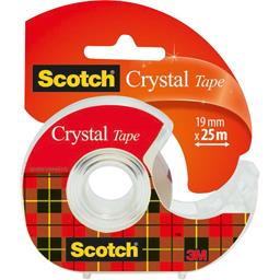 Scotch Ruban Crystal 25 m x 19 mm