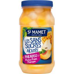 Sans Sucres Ajoutés - Pêche, poire mangue Paradiso