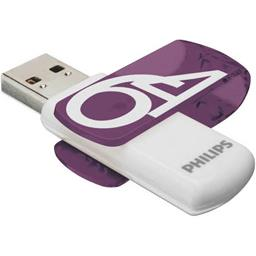 Clé USB Vivid 64 Go USB 2.0 violet