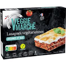 Lasagnes végétarienne, légumes et blé
