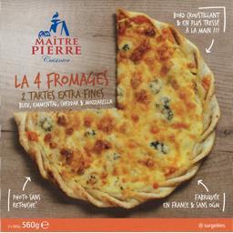 Tarte fine La 4 Fromages