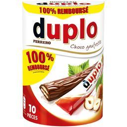 Duplo - Barres choco gaufrette
