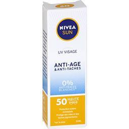 Sun - Crème solaire visage anti-âge & anti-taches SP...