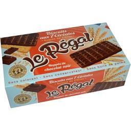 Biscuits Le Régal aux 7 céréales chocolat noir