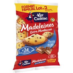 Ker Cadélac Madeleines chocolat au lait