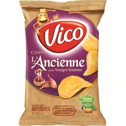 Chips à l'ancienne saveur vinaigre échalote
