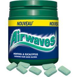 Chewing-gum menthol et eucalyptus sans sucres