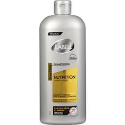 Shampooing Nutrition, cheveux secs et abîmés