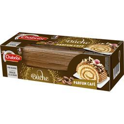 Chabrior Bûche pur beurre café roulée à la main la boite de 400 g
