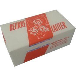 Beurre 1/2 sel noisette